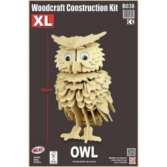 owl xl - kit di costruzioni in legno (certificazione fsc)