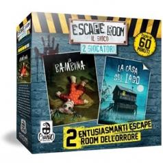 """escape room 2 giocatori - """"la bambina"""" e """"la casa sul lago"""""""