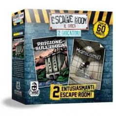"""escape room 2 giocatori - """" prigione sull'isola"""" e """"manicomio"""""""