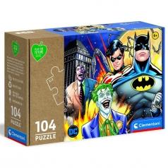 batman - puzzle 104 pezzi - play for future
