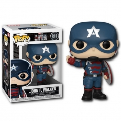 marvel the falcon and the winter soldier - john f. walker - funko pop 811