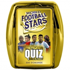 top trumps quiz - world football stars - le star del calcio