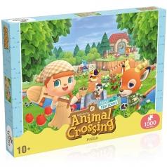 animal crossing new horizons - puzzle 1000 pezzi