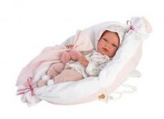 bambola nica con cuscino 40cm