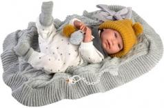 bambolotto n.born con coperta 42cm