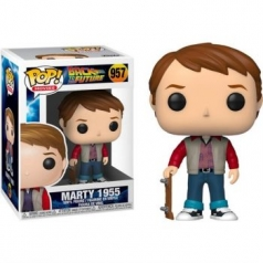 back to the future - marty 1955 - funko pop 957