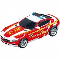 "carrera go!!! - mercedes-amg gt coupe ""112"" con luci"