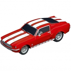carrera go!!! - ford mustang '67 racing red