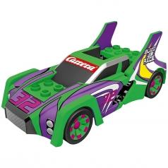 carrera go!!! - build 'n race race car green