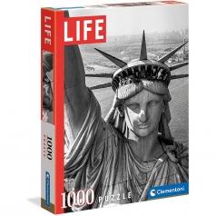 statue of liberty - puzzle 1000 pezzi