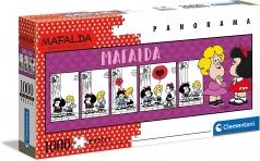 mafalda - puzzle 1000 pezzi panorama
