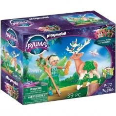 forest fairy e il suo compagno animale
