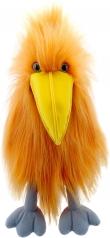 marionetta uccello arancione