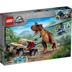 76941 - l'inseguimento del dinosauro carnotaurus