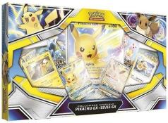 pokemon gcc - collezione speciale pikachu gx e eevee gx