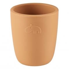 bicchiere mini mug, mostarda - 100% silicone alimentare