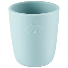 bicchiere mini mug, celeste - 100% silicone alimentare