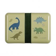 dinosauri - contenitore portapranzo da decorare