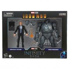 marvel legends series - the infinity saga - obadiah stane, iron monger
