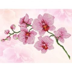orchid spray - diamond dotz intermediate dd6.034 41x31cm