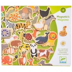 magnimo - magneti in legno con animali