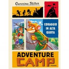 geronimo stilton - coraggio in alta quota. adventure camp