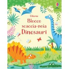 dinosauri. blocco scaccia-noia. ediz. illustrata