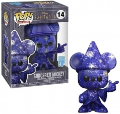 disney fantasia - sorcerer mickey - art series - funko pop 14