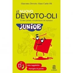 il nuovo devoto-oli junior. il mio primo vocabolario di italiano. ediz. ad alta leggibilita