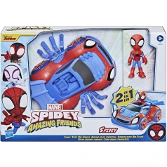 marvel spidey and his amazing friends - spidey con veicolo