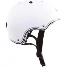 globber - caschetto junior xs/s (51-54cm) - bianco