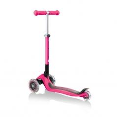 globber - junior foldable - monopattino pieghevole - rosa