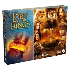 the lord of the ring - mount doom - puzzle 1000 pezzi