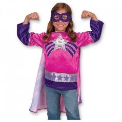 super eroina costume 3-6 anni