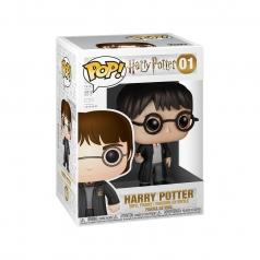 harry potter - harry potter con uniforme e bacchetta - funko pop 01