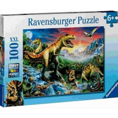 l'era dei dinosauri - 100 pezzi xxl