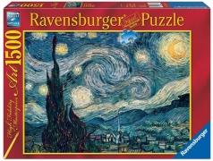 van gogh: notte stellata - 1500 pezzi