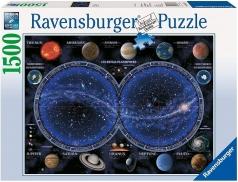 planisfero celeste - 1500 pezzi