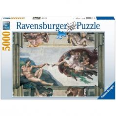 michelangelo: creazione di adamo - puzzle 5000 pezzi