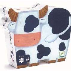 le mucche nella fattoria - puzzle 24 pezzi
