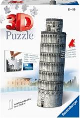 torre di pisa - puzzle 3d 216 pezzi