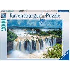 cascata brasile - puzzle 2000 pezzi