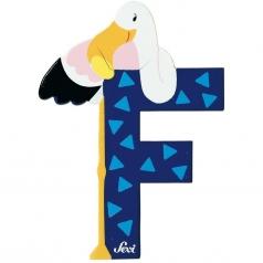 lettera f flamingo