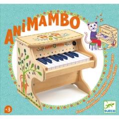 animambo - piano elettrico 18 tasti in legno